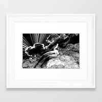 apollonia Framed Art Prints featuring asc 615 - La volupté des formes (The voluptuousness of painting) by From Apollonia with Love