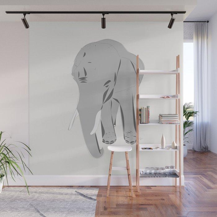 Thailand Elephant Wall Mural