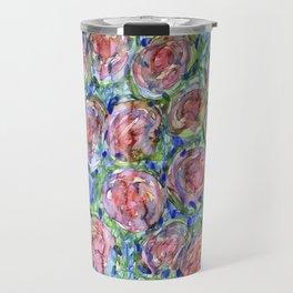 Bed Of Roses Travel Mug