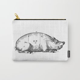 Vintage Illustration, Meat Carving Carry-All Pouch