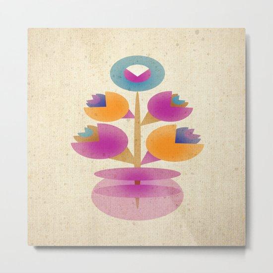 Bunch in Vase Metal Print