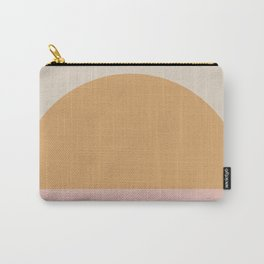 Neutral 70's Minimal Sunset Carry-All Pouch