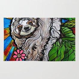 Happy Sloth Rug