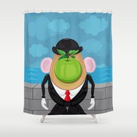 Son of the tuber  Shower Curtain