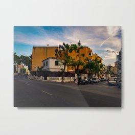 Spanish Street Metal Print