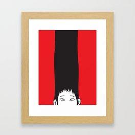 The Grudge Framed Art Print