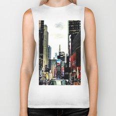 Downtown New York City Biker Tank