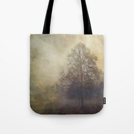 painterly autumn tree Tote Bag