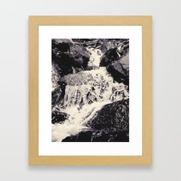 Waterfall 2, Colorado Framed Art Print