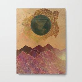 Jupiter Landscape Metal Print