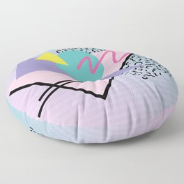 Memphis pattern 44 - 80s / 90s Retro Floor Pillow