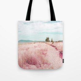 Coastal trail - blush Tote Bag
