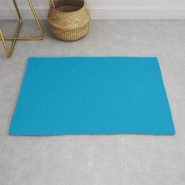 Fluorescent Neon Blue // Pantone 801 U Rug