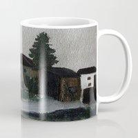 hamlet Mugs featuring the hamlet by Maria Julia Bastias