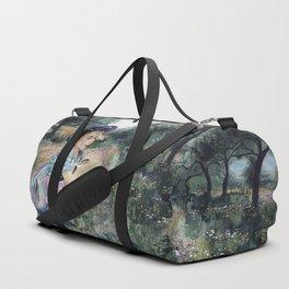 girl in the olive grove Duffle Bag