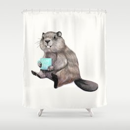 Dam Fine Coffee Shower Curtain