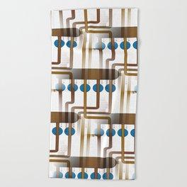 Abacus I Beach Towel