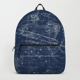 Aries sky star map Backpack