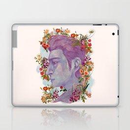 STURDMAN WITH FLOWER DECORATION Laptop & iPad Skin