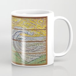 Waves on Grain Coffee Mug