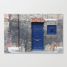 Westminster door 1 Canvas Print