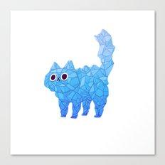 Crystal Cat Canvas Print
