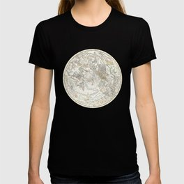 Star map of the Southern Starry Sky T-shirt