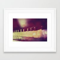 piano Framed Art Prints featuring Piano by Jean-François Dupuis