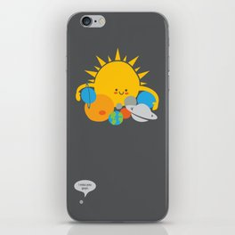 Hugs are for Planets Only iPhone Skin