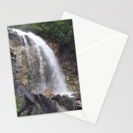 White Pass Waterfall Stationery Cards