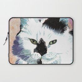 Kitty - Pop Art Cat Portrait Laptop Sleeve