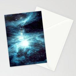 Orion Nebula Teal Blue Stationery Cards