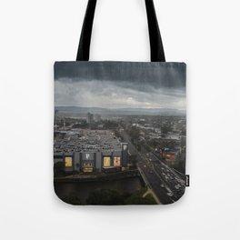 Stormy Weather At Broadbeach Tote Bag