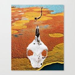Skull Dive Canvas Print