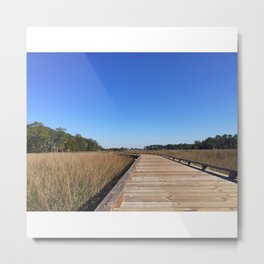 Nature Preserve Metal Print