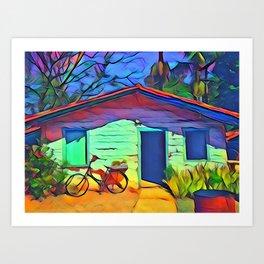 Simple Home Art Print