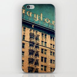 1924 Gaylord Apartments Vintage Neon Sign  iPhone Skin