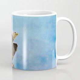 Landing Gear - Bald Eagle In Flight Coffee Mug
