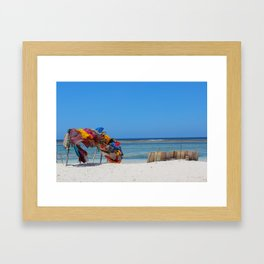 Diani Beach Framed Art Print