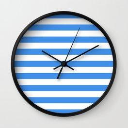 Micronesia San Marino Somalia Nicaragua flag stripes Wall Clock