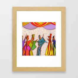Party-Party! Framed Art Print