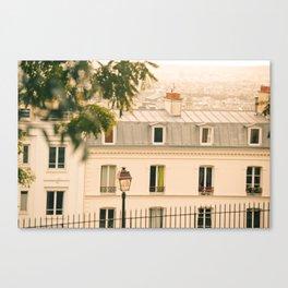 Parisian Breeze Canvas Print