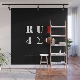 Are You Ready For Some Football (cryptic) - inverted Wall Mural