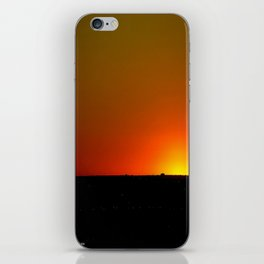 There's A Feeling I Get When I Look To The West #1 (Chicago Sunrise/Sunset Collection) iPhone Skin
