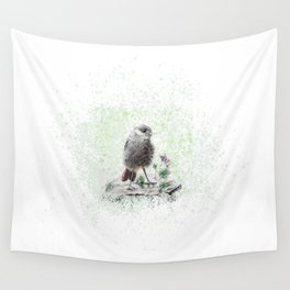 Redstart Wall Tapestry