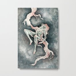 You've Been Thunderstruck (Semele & Zeus) Metal Print