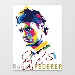 roger Federer Canvas Print