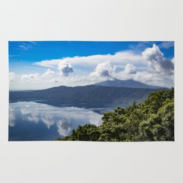 Mombacho Volcano Lake View Rug