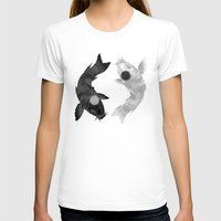aang T-shirts featuring Yin Yang Koi by chardeekellys
