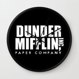 The Office Dunder Miflin Wall Clock